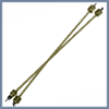 Топливопровод металлический (М12хМ14) мм.